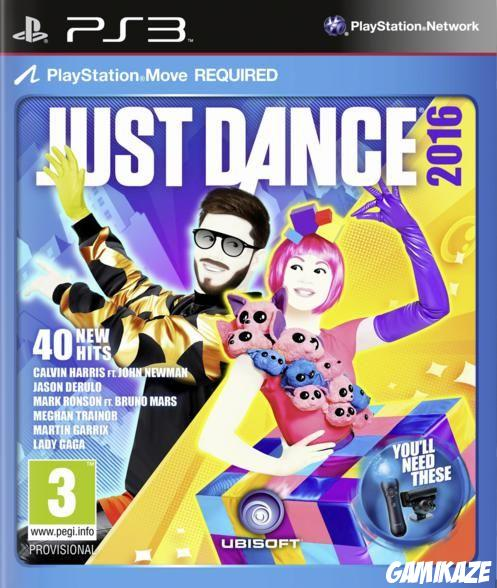 cover Just Dance 2016 ps3