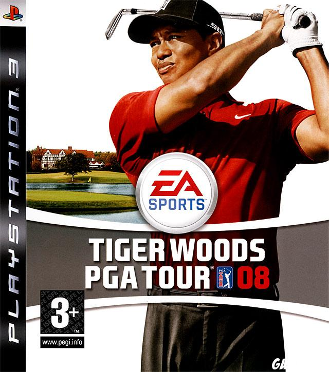cover Tiger Woods PGA Tour 08 ps3