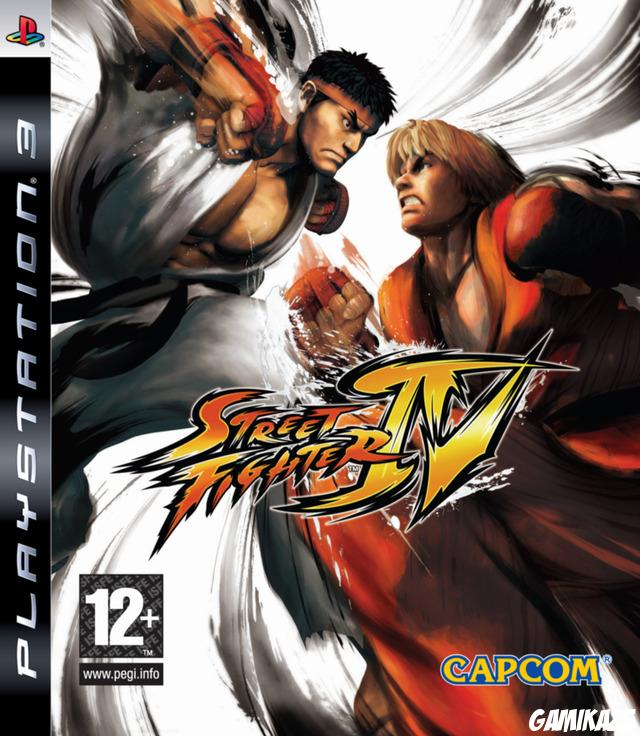 cover Street Fighter IV ps3