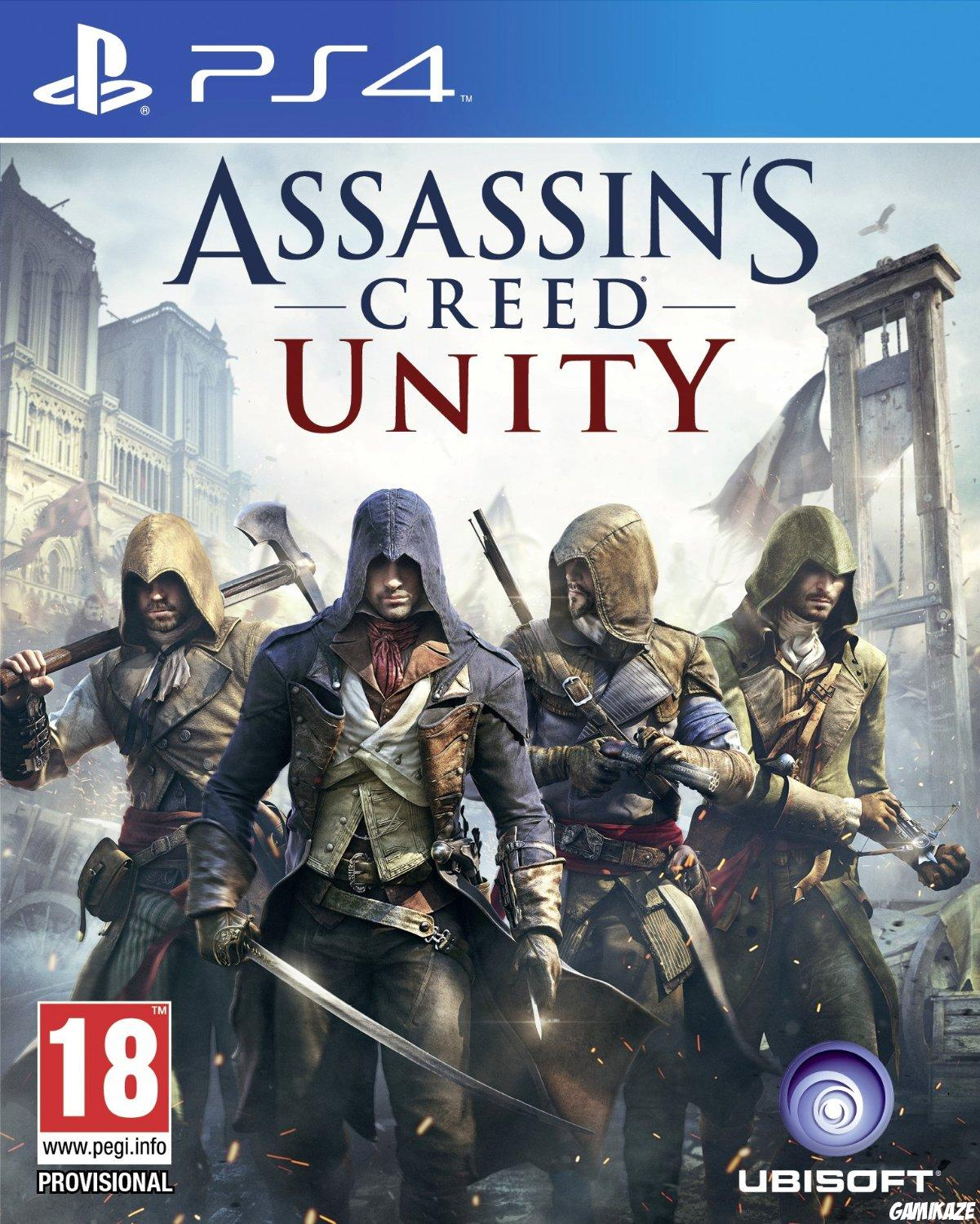 cover Assassin's Creed Unity ps4