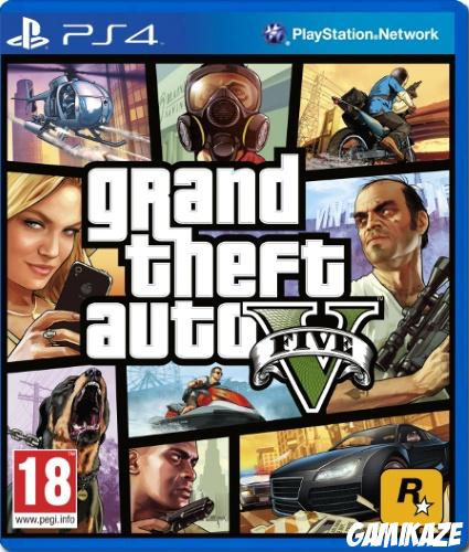 cover Grand Theft Auto V ps4