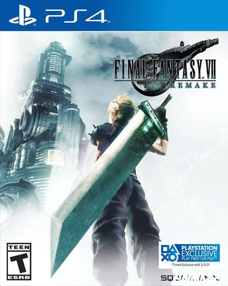 cover Final Fantasy VII Remake ps4