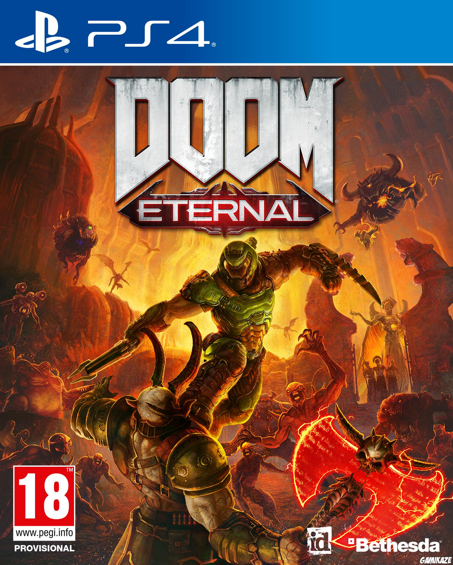 cover Doom Eternal ps4