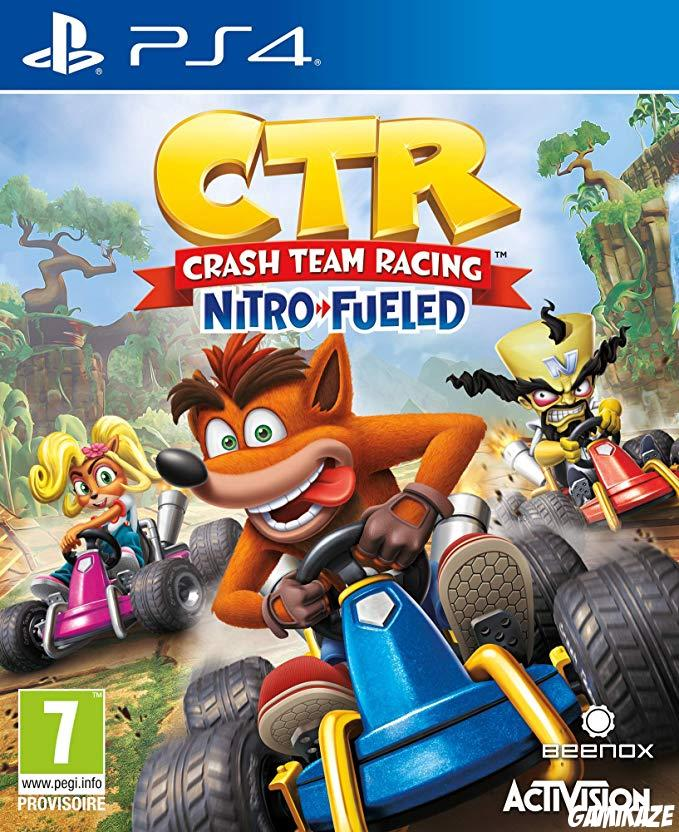 cover Crash Team Racing Nitro Fueled ps4