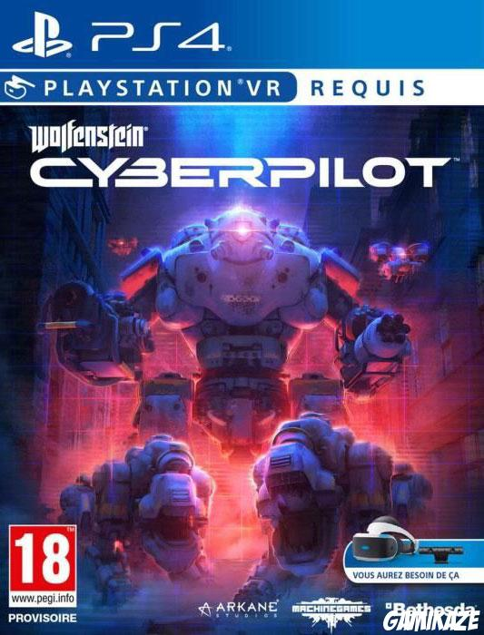 cover Wolfenstein Cyberpilot ps4