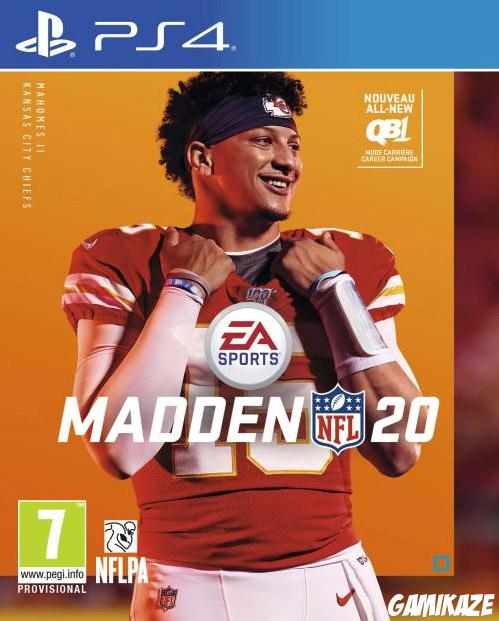 cover Madden NFL 20 ps4