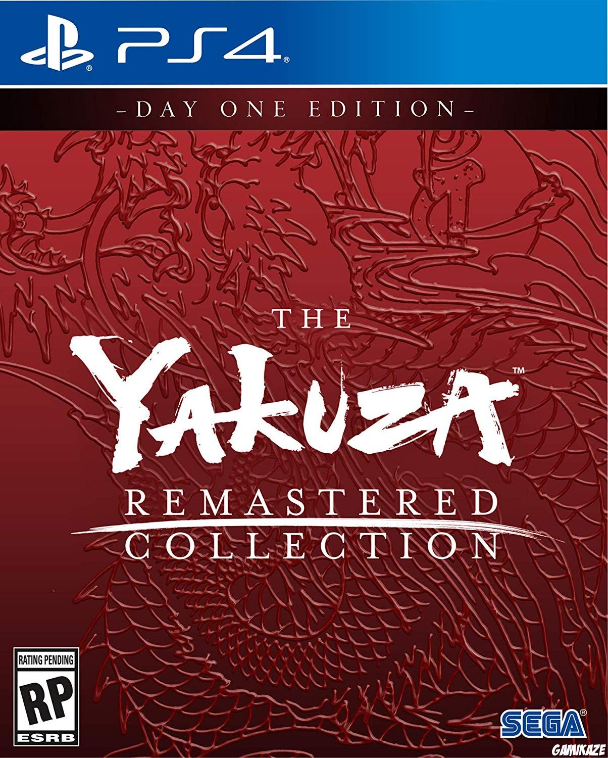 cover The Yakuza Remastered Collection ps4