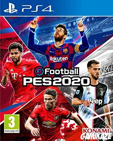 cover eFootball PES 2020 ps4