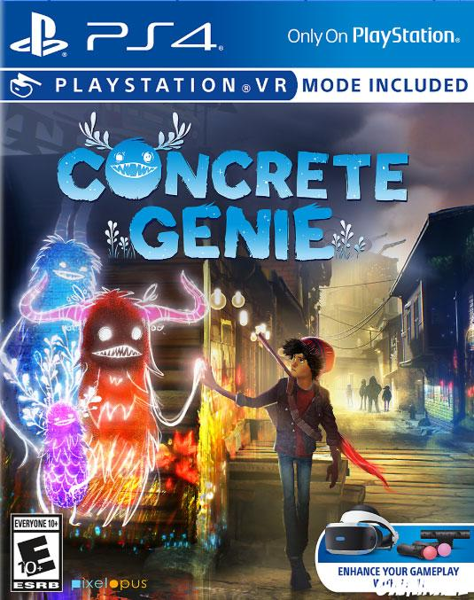 cover Concrete Genie ps4