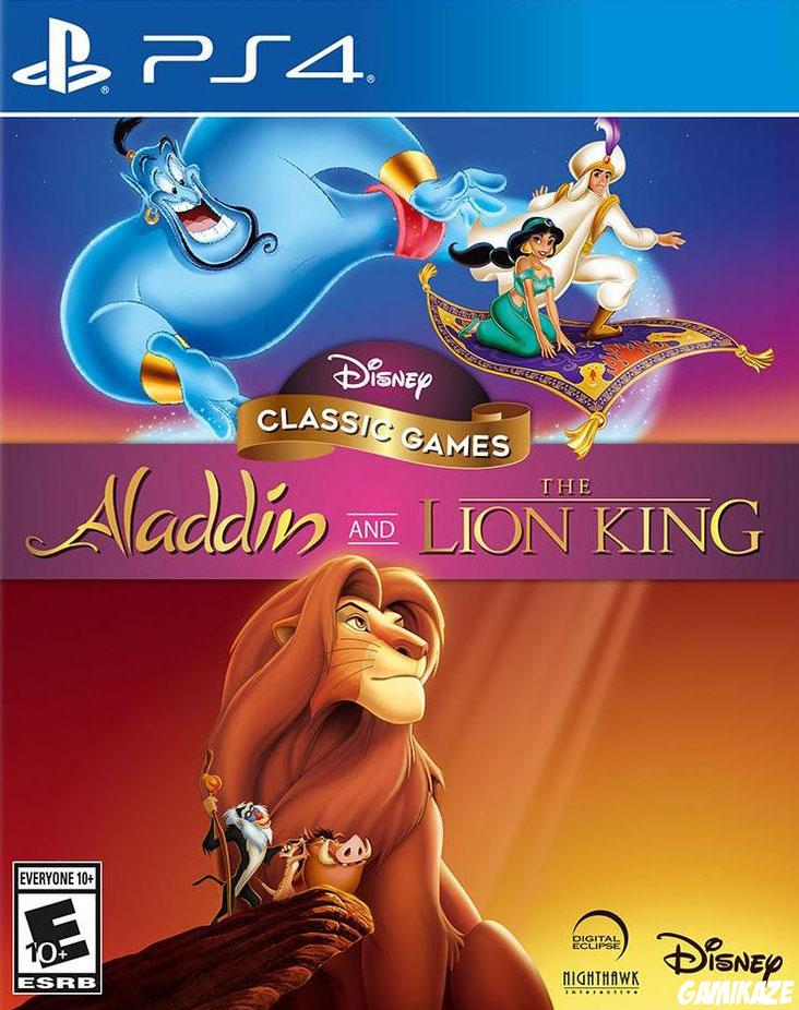 cover Disney Classic Games : Aladdin and The Lion King ps4