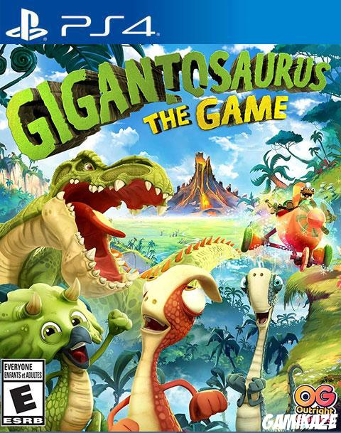 cover Gigantosorus The Game ps4