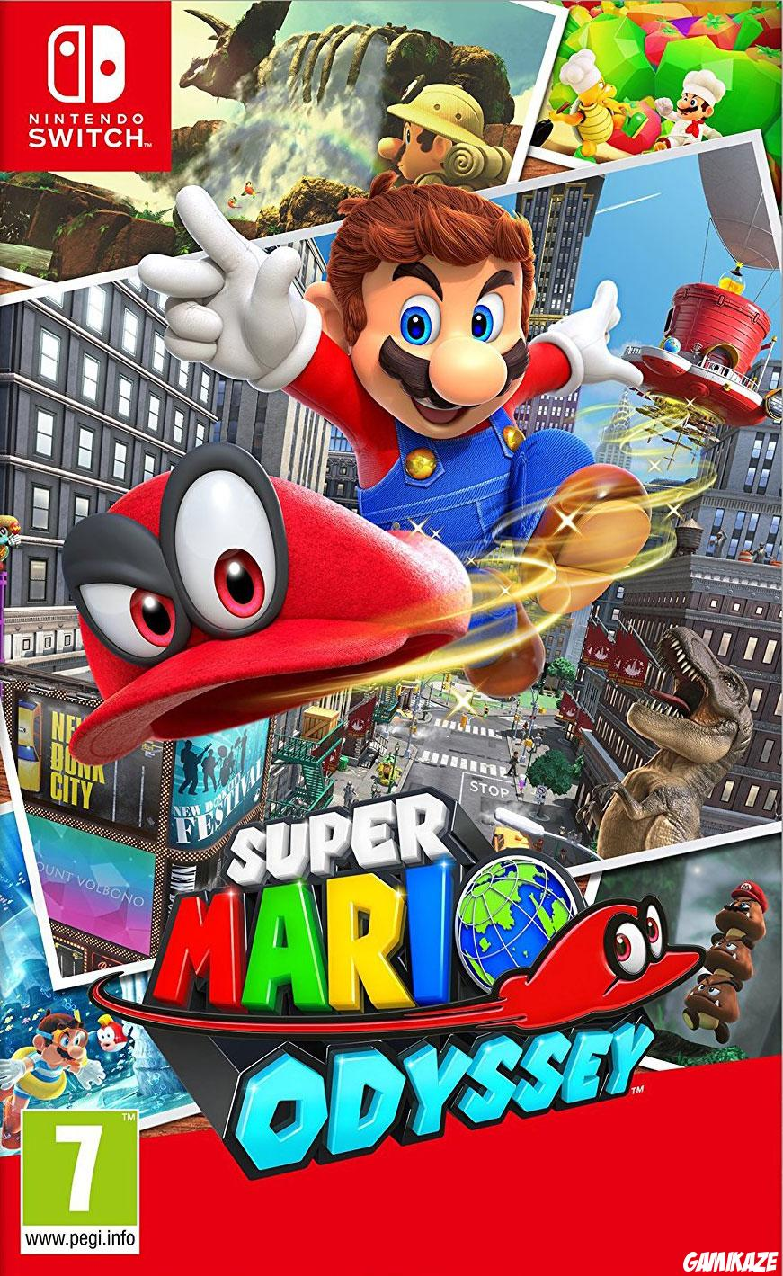 cover Super Mario Odyssey switch