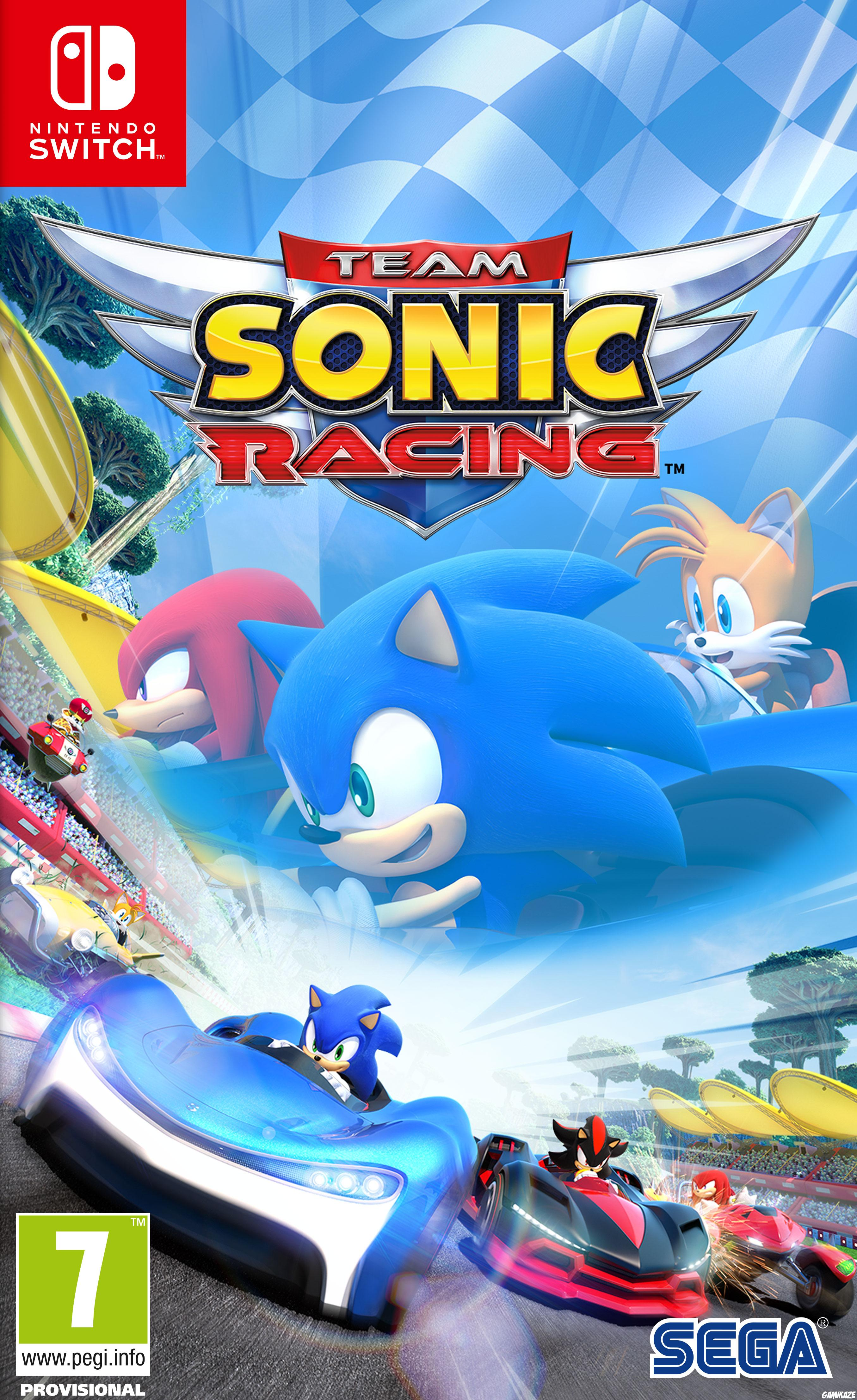 cover Team Sonic Racing switch