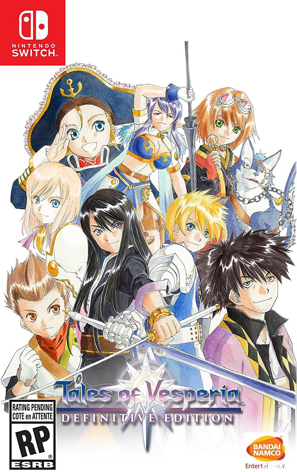 cover Tales of Vesperia Definitive Edition switch