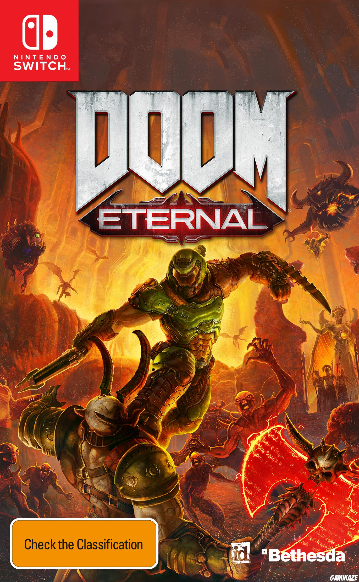 cover Doom Eternal switch
