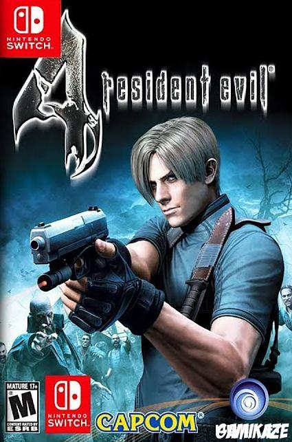 cover Resident Evil 4 switch
