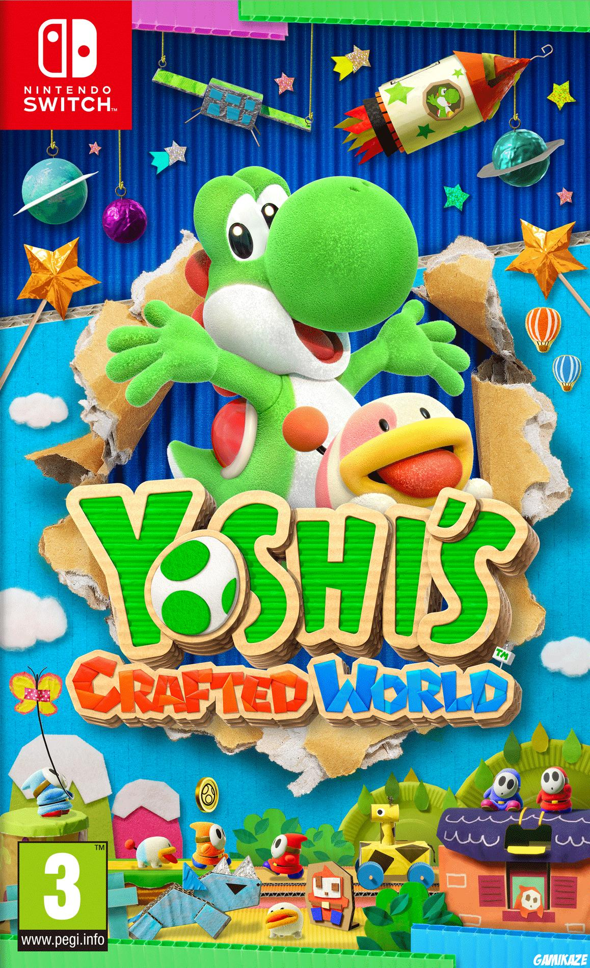 cover Yoshi's Crafted World switch