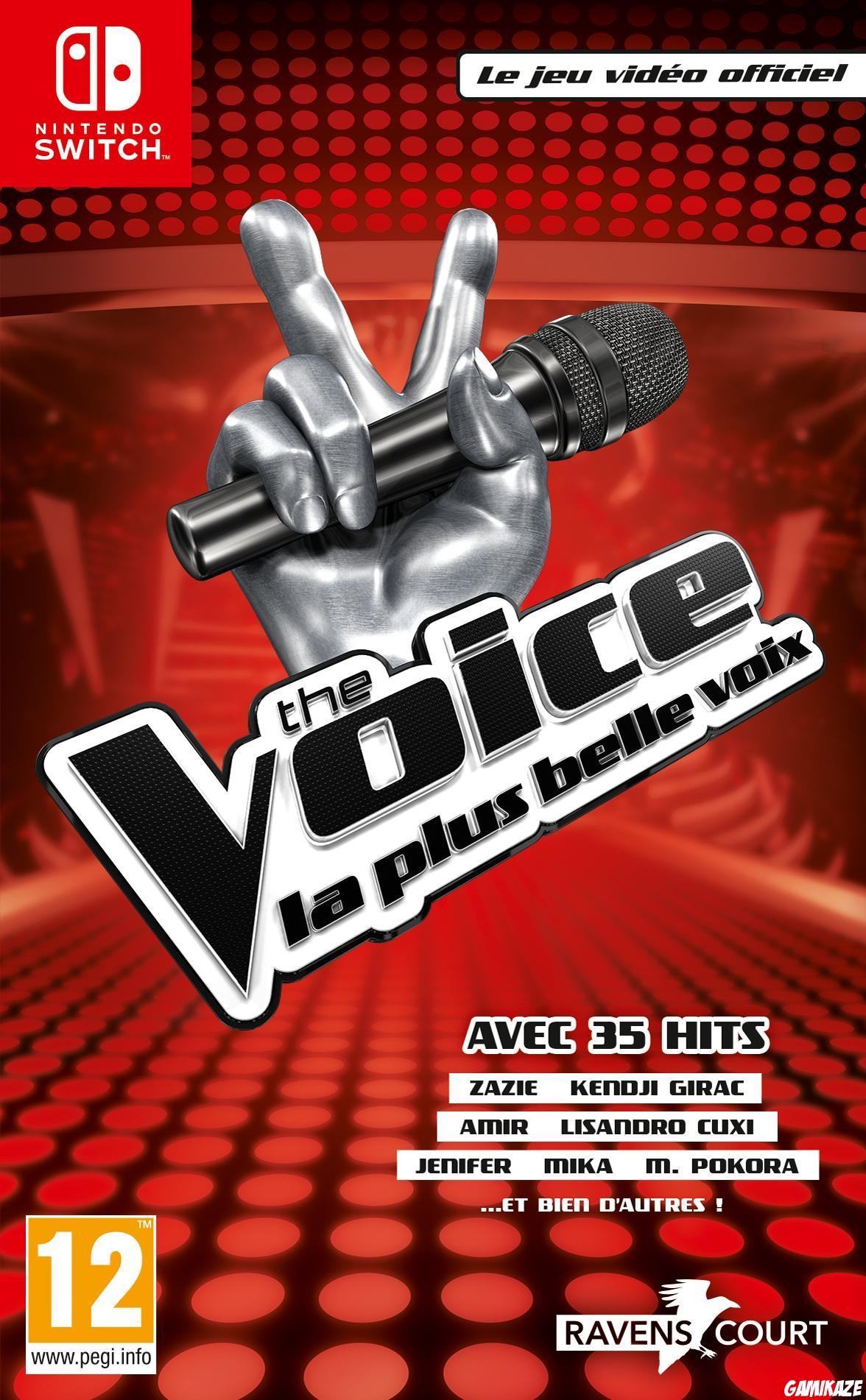 cover The Voice : La plus belle voix - Le jeu vidéo officiel switch