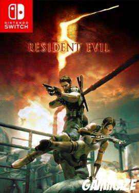 cover Resident Evil 5 switch