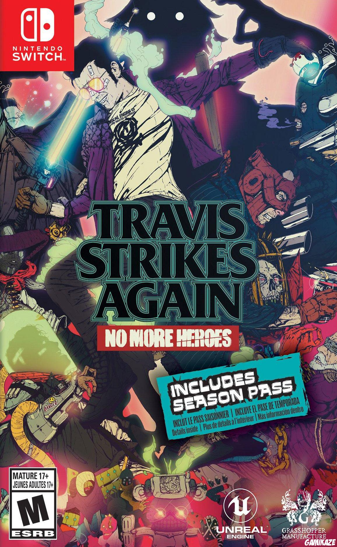 cover Travis Strikes Again : No More Heroes Complete Edition switch