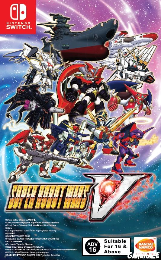cover Super Robot Wars V switch