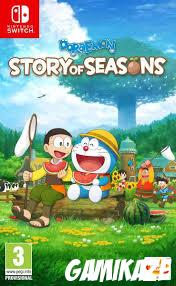 cover Doraemon Story of Seasons switch