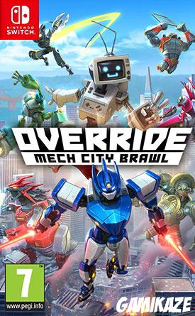 cover Override Mech City Brawl - La Super Charged Mega Edition switch