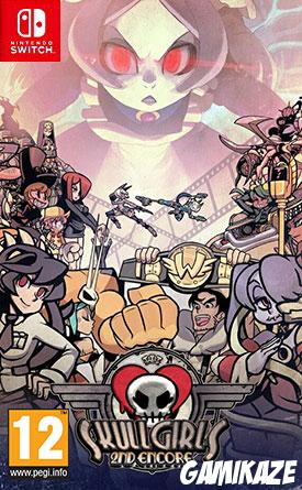 cover Skullgirls 2nd Encore switch