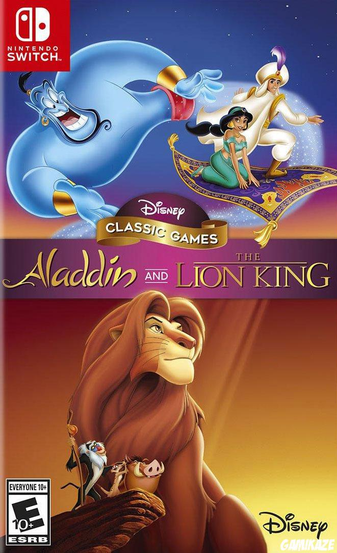 cover Disney Classic Games : Aladdin and The Lion King switch