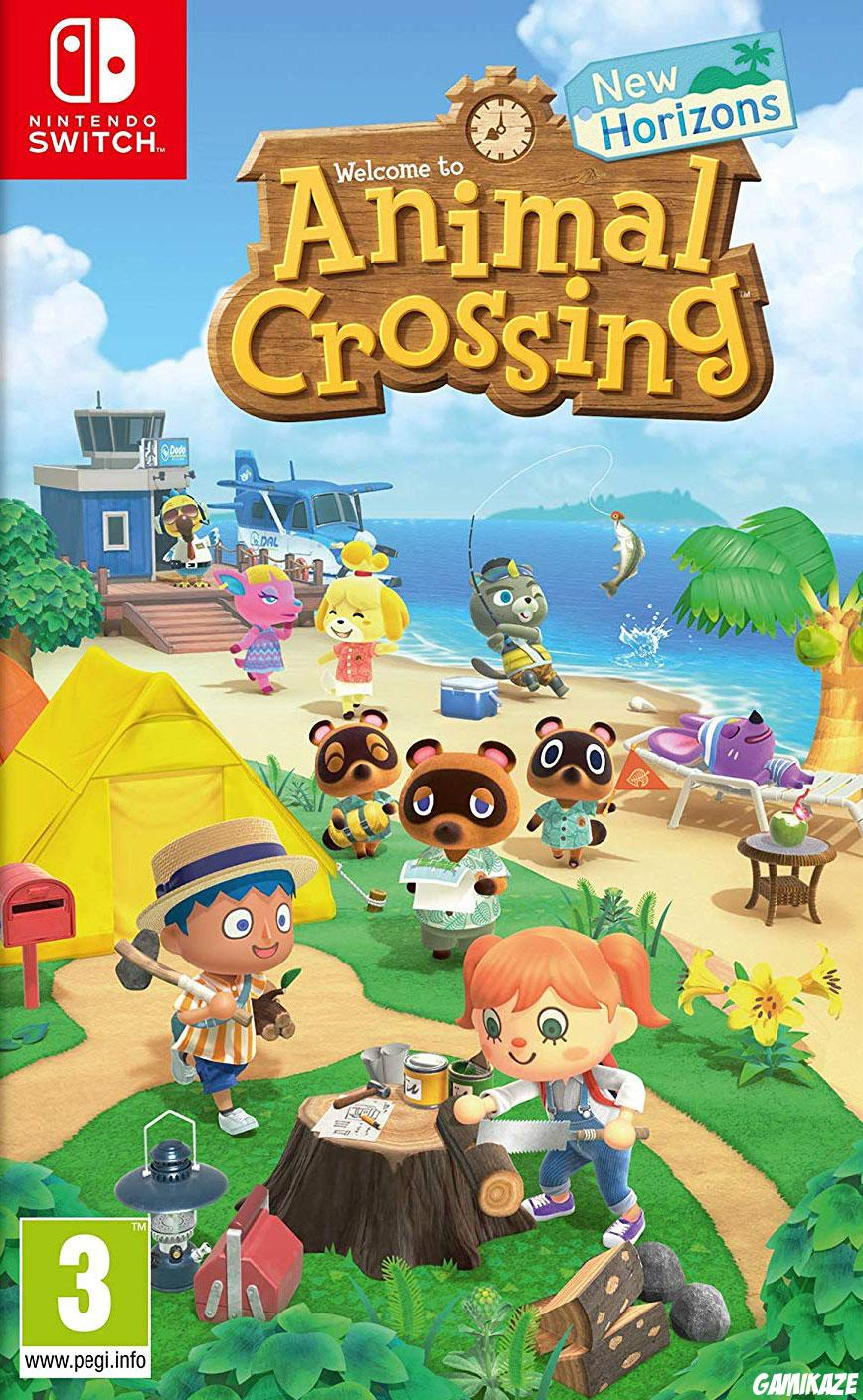 cover Animal Crossing : New Horizons switch