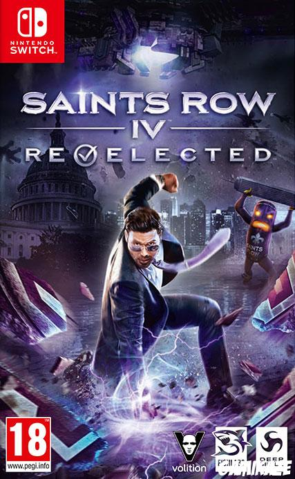 cover Saints Row : Re-Elected switch