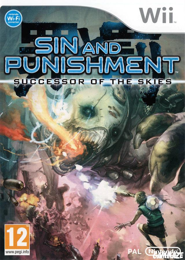 cover Sin and Punishment : Successor of the Skies wii