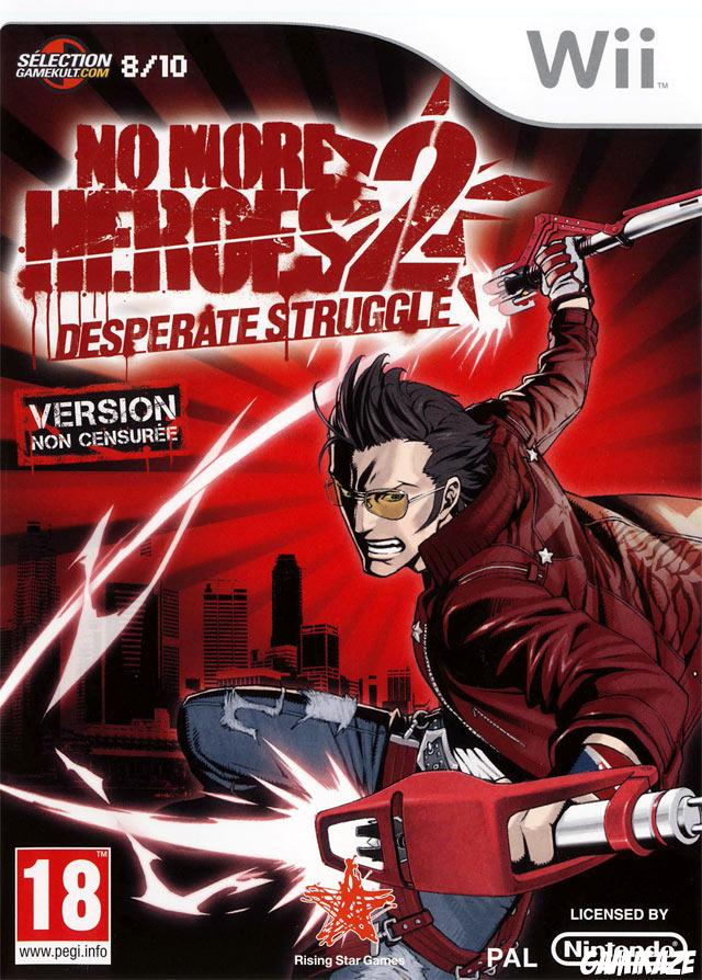cover No More Heroes : Desperate Struggle wii