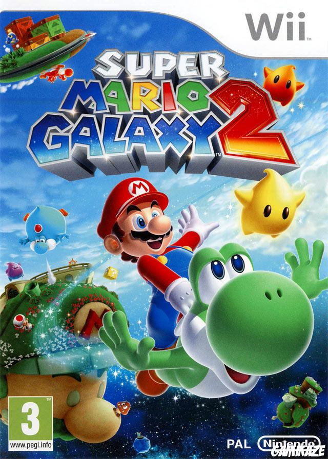 cover Super Mario Galaxy 2 wii