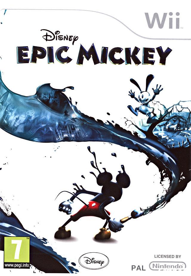 cover Epic Mickey wii