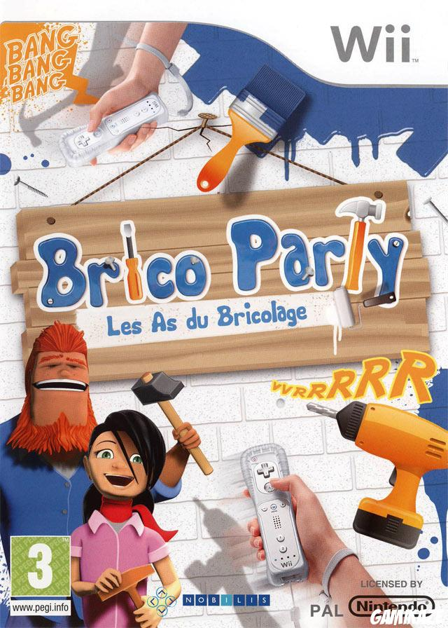cover Brico Party : Les As du Bricolage wii
