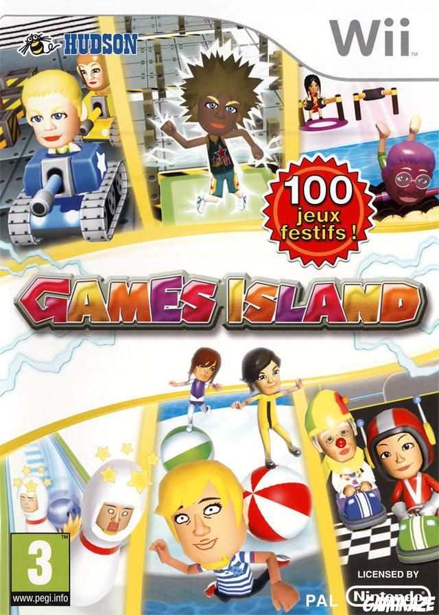 cover Games Island wii
