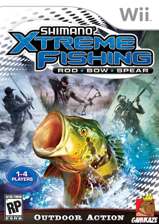 cover Shimano Xtreme Fishing wii