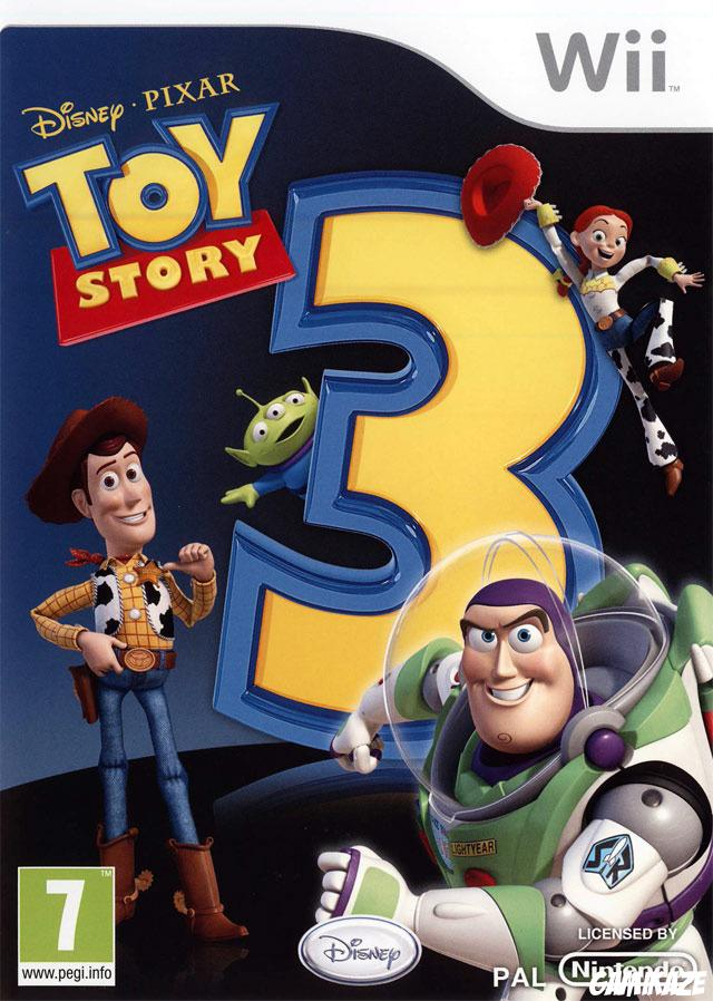 cover Toy Story 3 wii