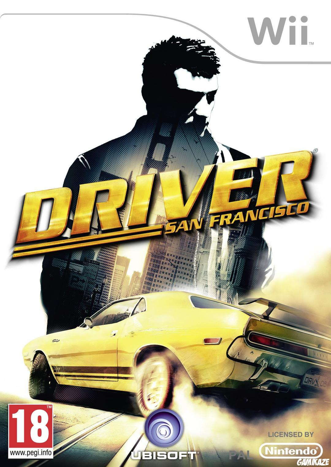 cover Driver : San Francisco wii