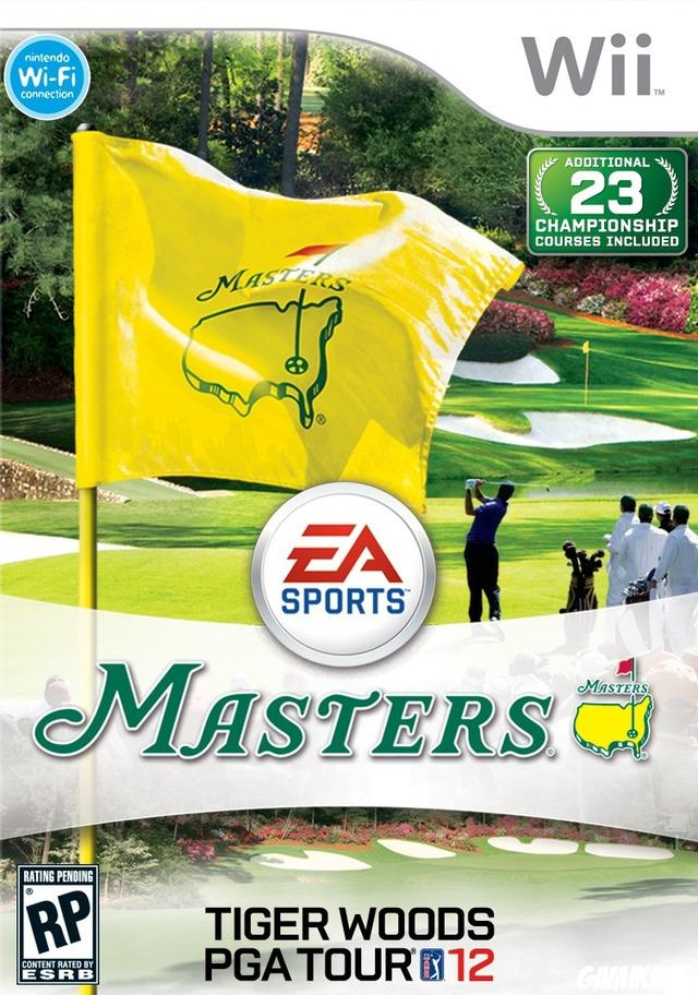 cover Tiger Woods PGA Tour 12 : The Masters wii