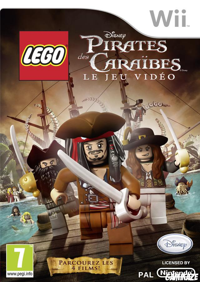 cover Lego Pirates des Caraibes wii