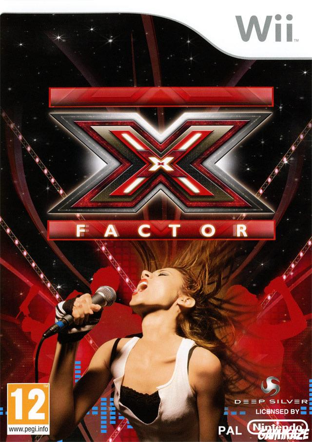cover X Factor wii