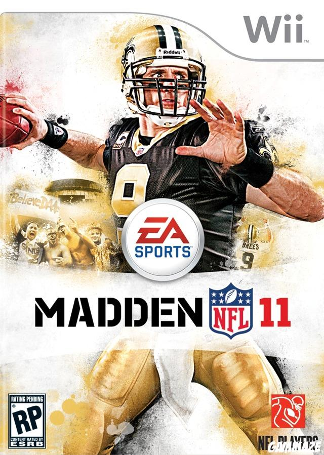 cover Madden NFL 11 wii