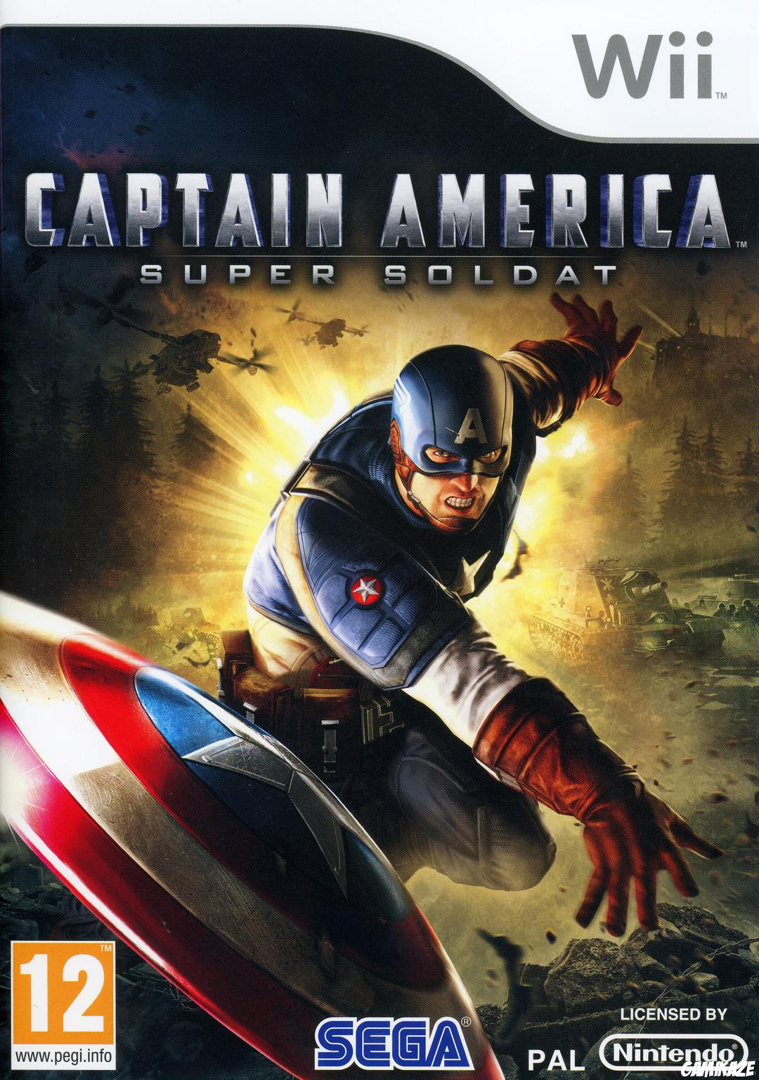 cover Captain America : Super Soldier wii
