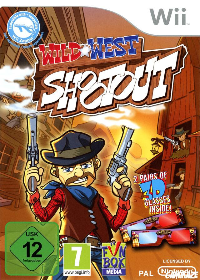 cover Wild West Shootout wii