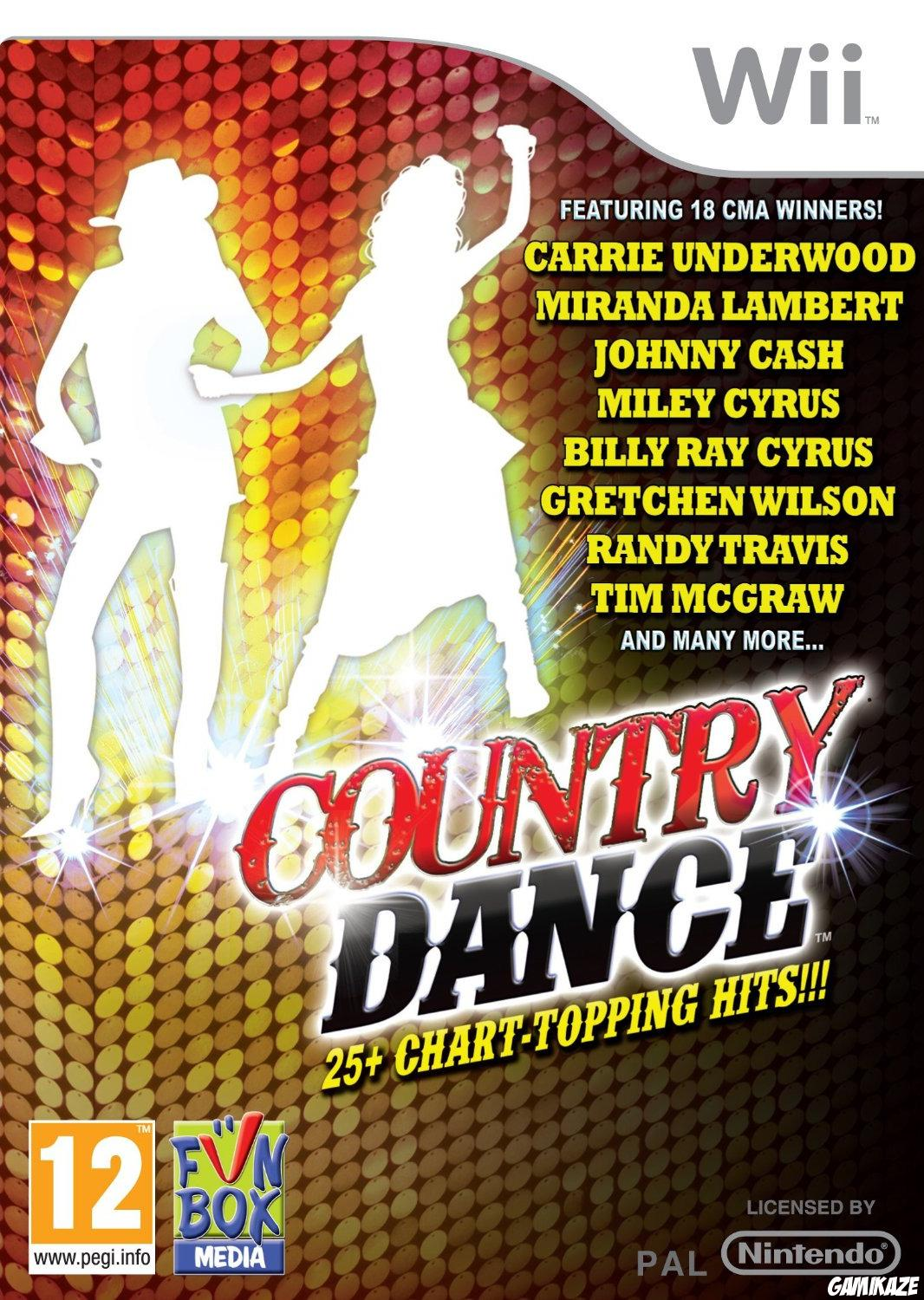 cover Country Dance wii
