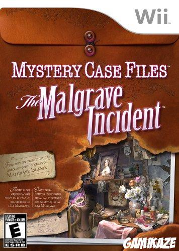 cover Mystery Case Files : The Malgrave Incident wii