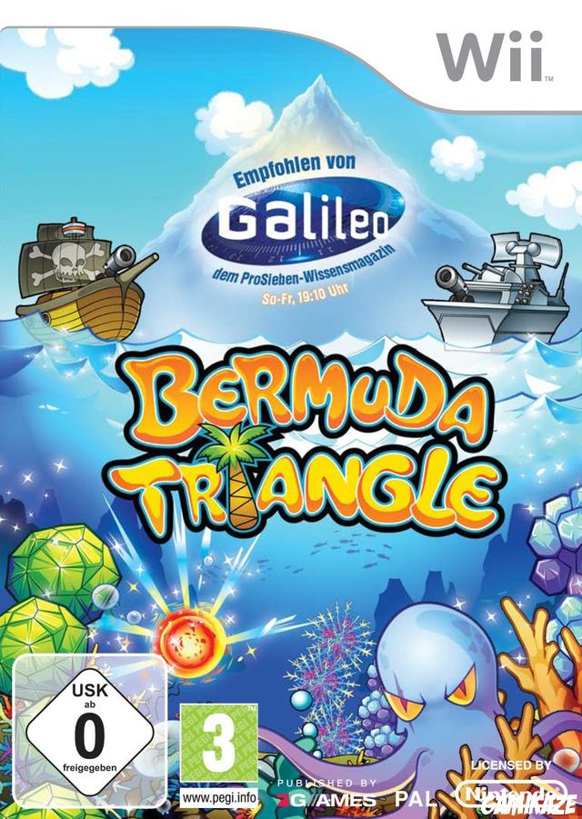 cover Bermuda Triangle wii