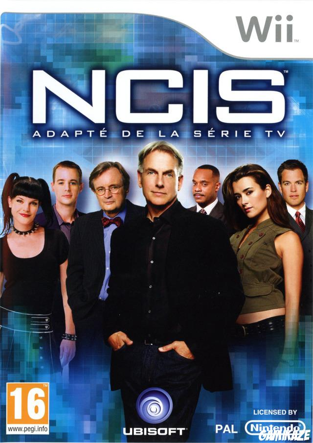 cover NCIS wii